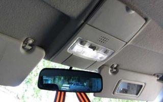 Плафон освещения салона лада приора: как снять, схема