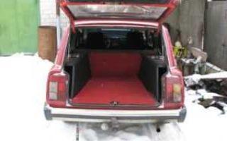 Объем багажника ваз-2104 в литрах: технические характеристики