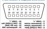 Диагностический разъем шевроле нива: где находится, схема, описание