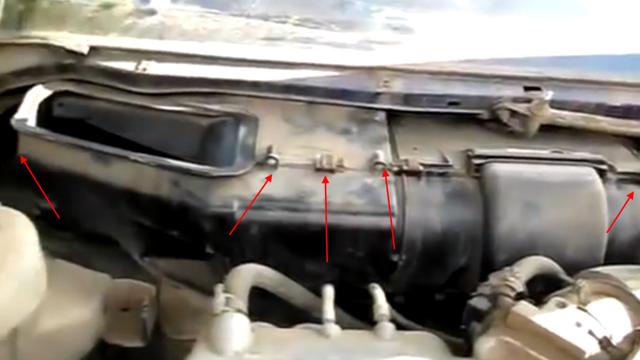 Как снять печку на ВАЗ-2110: инструкция с видео