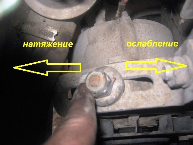 Замена ремня генератора ВАЗ-2107 инжектор своими руками: пошаговая видеоинструкция