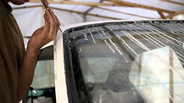 Замена лобового стекла ВАЗ-2114 своими руками: пошаговая видеоинструкция
