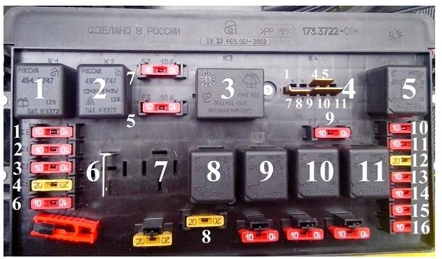 Предохранитель прикуривателя ВАЗ-2115: где находится