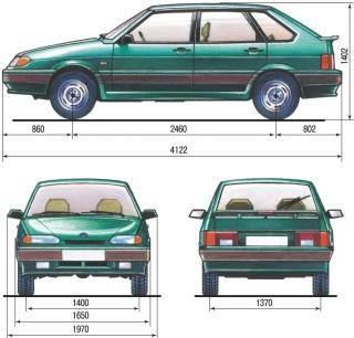 Вес ВАЗ 2115: сколько он весит, параметры