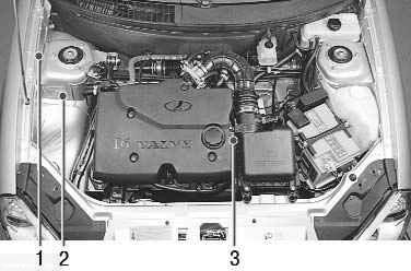 Где находится номер двигателя на Ладе Приора 8 и 16 клапанов: схема