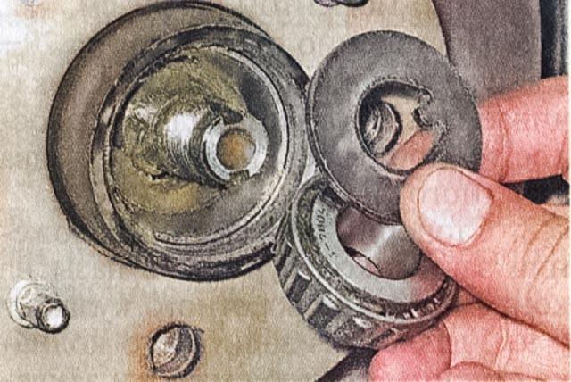 Замена ступичного подшипника ВАЗ-2107 своими руками: пошаговая видеоинструкция
