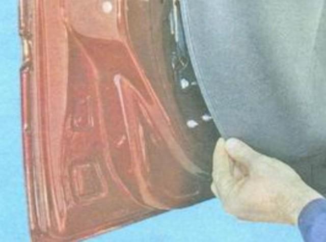 Как снять обшивку на двери на Ладе Гранта своими руками: видеоинструкция