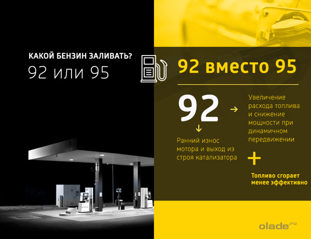 Какой бензин заливать в Ладу Приора 8 и 16 клапанов: 92 или 95