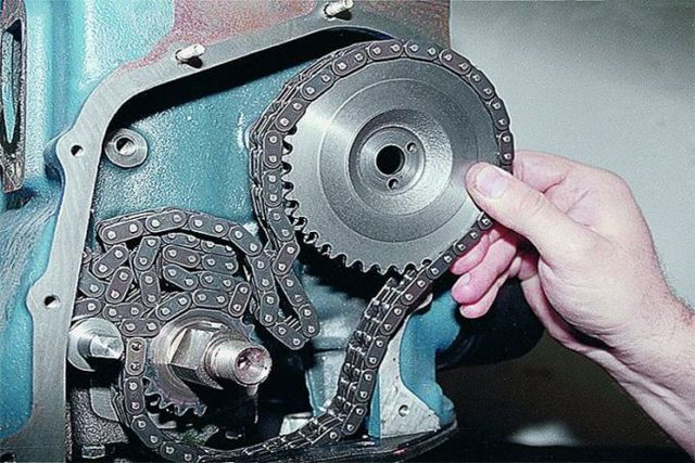 Как натянуть цепь на ВАЗ-2107 (инжектор, карбюратор): видеоинструкция