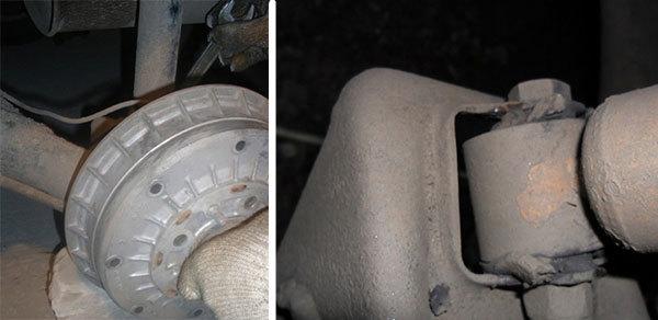 Замена задних амортизаторов ВАЗ 2115: видео инструкция своими руками