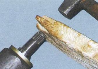 Замена ШРУСа ВАЗ 2109: видео инструкция пошаговая