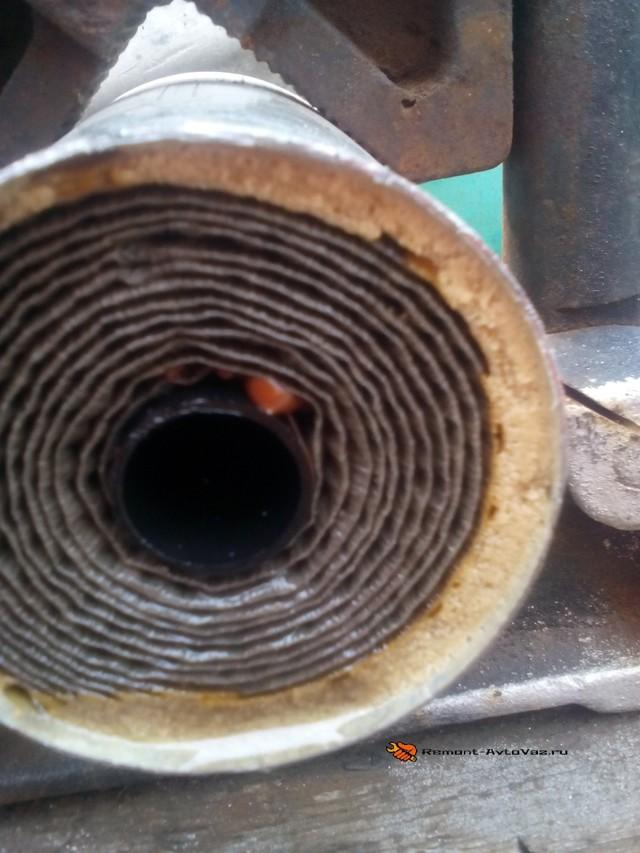 Замена топливного фильтра на Лада Гранта: видео инструкция