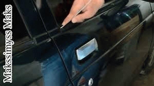 Как открыть ВАЗ 2110 без ключа: возможные способы