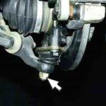 Как делается замена шаровой опоры ВАЗ 2110: видеоинструкция
