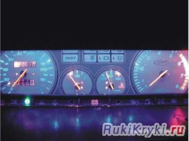 Тюнинг панели приборов ВАЗ-2109 своими руками: видеоинструкция