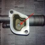 Установка термостата от Гранты на ВАЗ-2110 на 8 или 16 клапанов