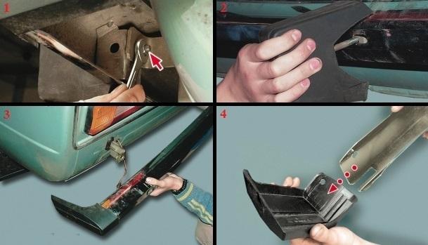 Как снять передний бампер на ВАЗ 2114 своими руками: видеоинструкция