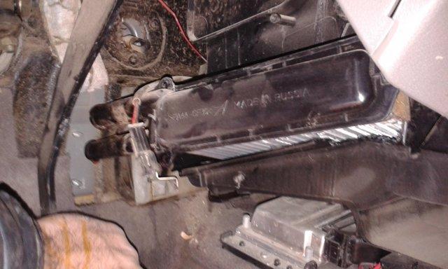Замена радиатора печки на Лада Калина без снятия панели: видео инструкция