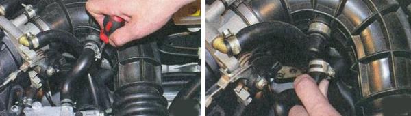 Впускной коллектор Лада Приора 8 и 16 клапанов: замена и монтаж