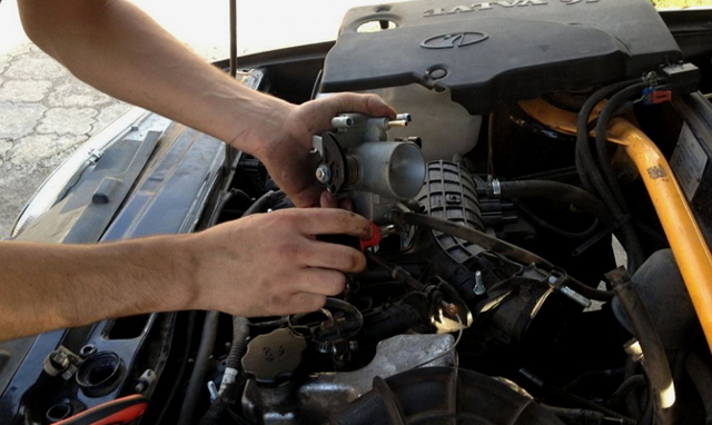 Чистка дроссельной заслонки ВАЗ-2114 своими руками: пошаговая видеоинструкция