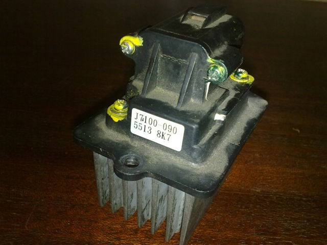 Резистор печки Лада Приора с кондиционером и без: замена