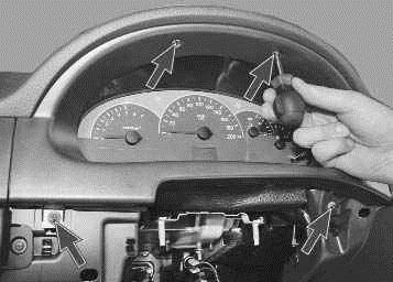 Комбинация приборов Лада Приора с навигацией: инструкция