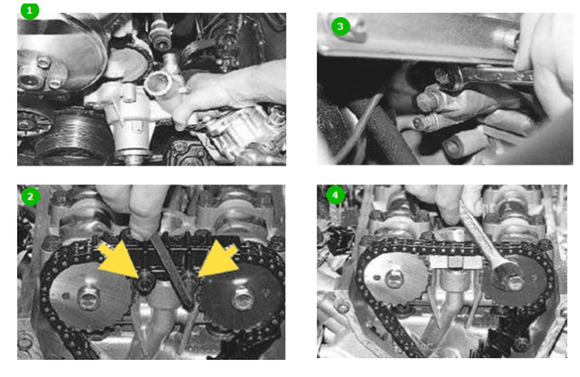 Самостоятельная замена цепи ГРМ Шевроле Нива и основные этапы