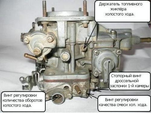 Ремонт карбюратора ВАЗ-2107 своими руками: пошаговая видеоинструкция