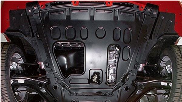 Как делается защита картера двигателя Лада Веста: видеоинструкция