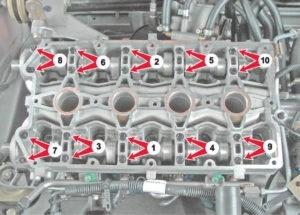 Снятие клапанов ВАЗ-2112 16 клапанов своими руками: пошаговая инструкция