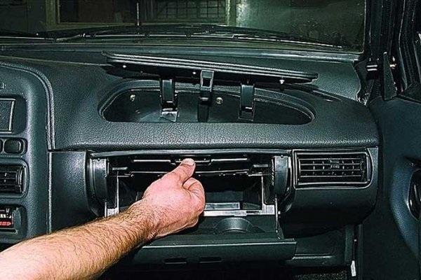 Замена радиатора печки ВАЗ-2115 без снятия панели