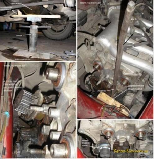 Замена помпы ВАЗ-2112 16 клапанов своими руками: видеоинструкция