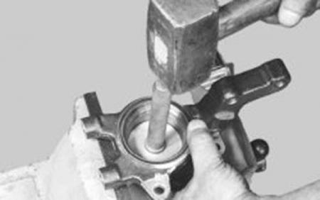 Замена ступичного подшипника ВАЗ 2114 своими руками: пошаговая инструкция