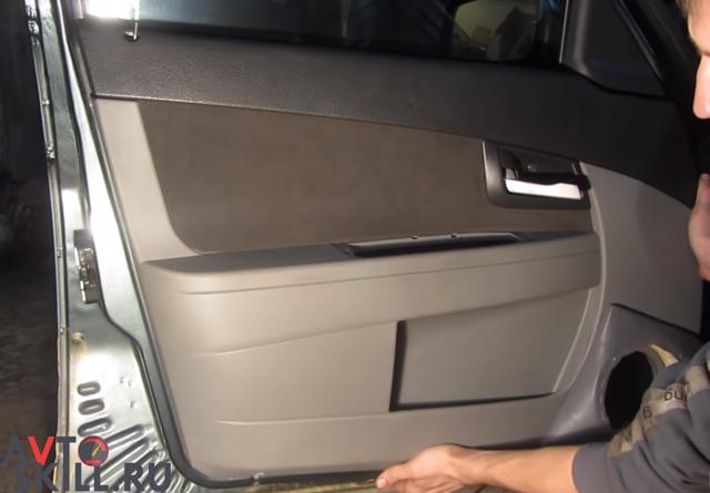 Снятие обшивки двери Лада Приора: пошаговая видеоинструкция