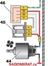 Где находится резистор печки ВАЗ 2114: схема, фото