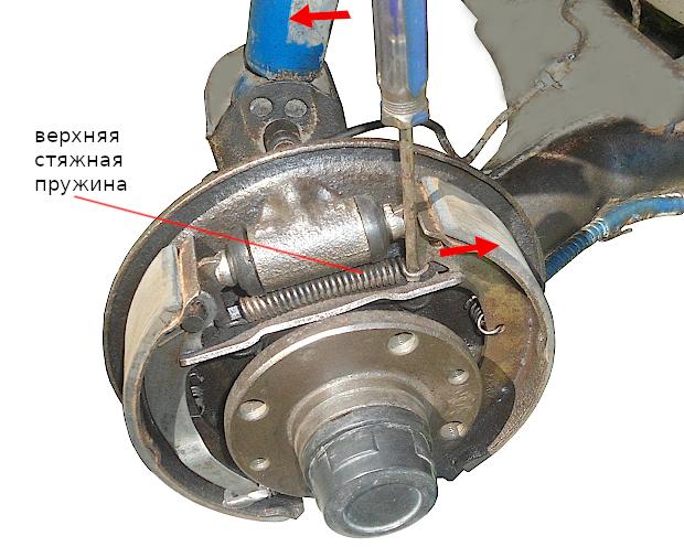 Замена задних тормозных колодок ВАЗ 2109 своими руками
