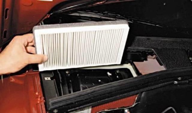 Замена салонного фильтра Шевроле Нива своими руками: инструкция